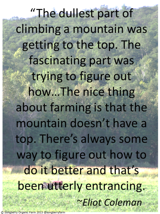 Coleman quote on farming